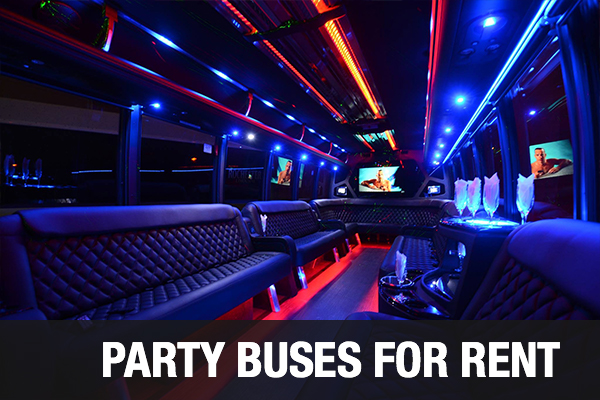 Party Buses For Rent Detroit